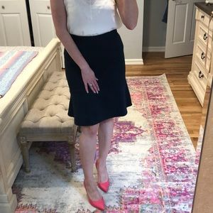 Bcbg Peplum Pencil Skirt
